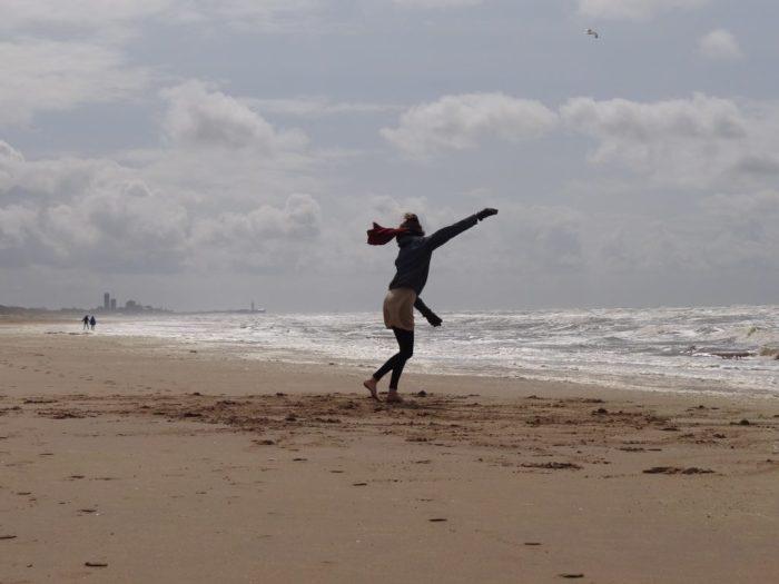 dansencoaching op strand